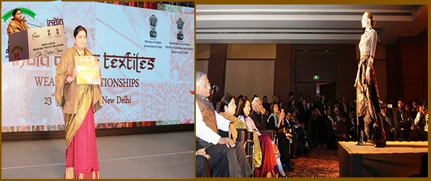 Fabric Show of India-ASEAN Weaving Textiles Relations